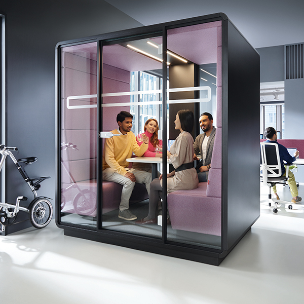 Mikomax-Hush-Meet-mobiele-akoestische-vrijstaande-vergaderruimte-vergader-unit-cabine-pod-1